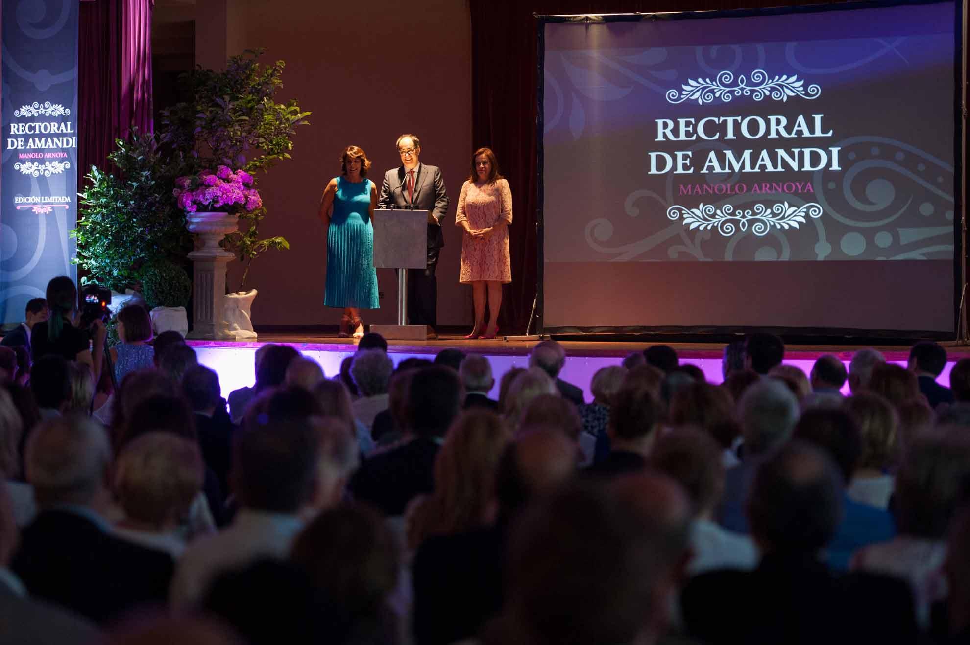 Así fue la presentación del «Rectoral de Amandi Manolo Arnoya»: Fotos y Vídeo