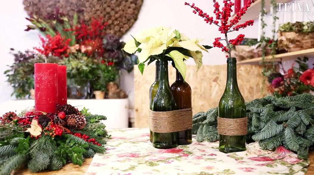 Objetos diseñados con botellas de vino