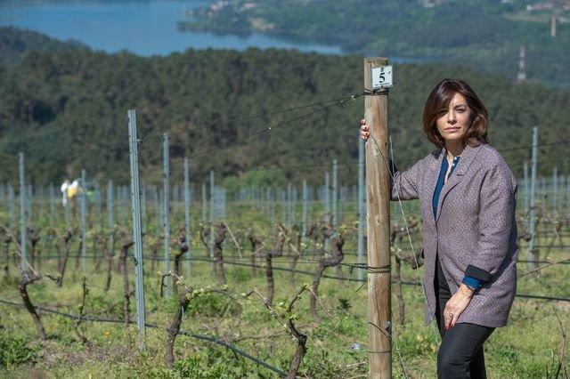 Myriam Vázquez, el vino en femenino