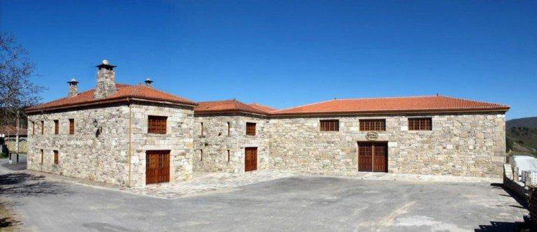 Lugares emblemáticos de Galicia, Rectoral de Amandi